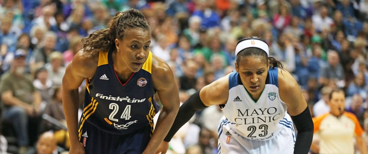 Tamika Catchings and Maya Moore