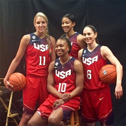 Tamika Catchings Team USA