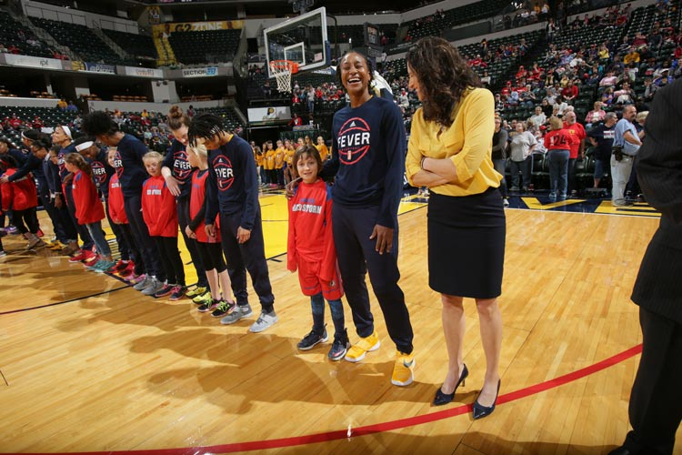 Tamika Catchings, Stephanie White