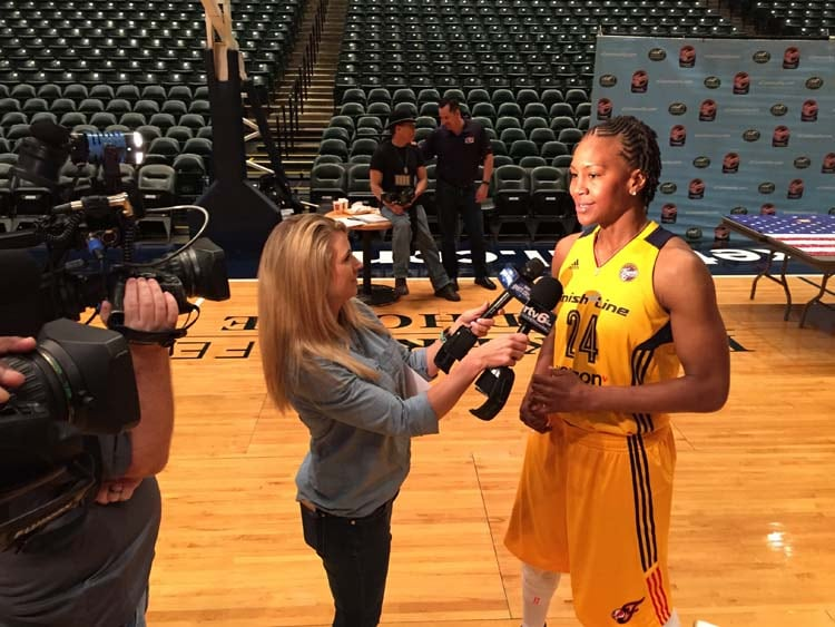Media Day Catchings