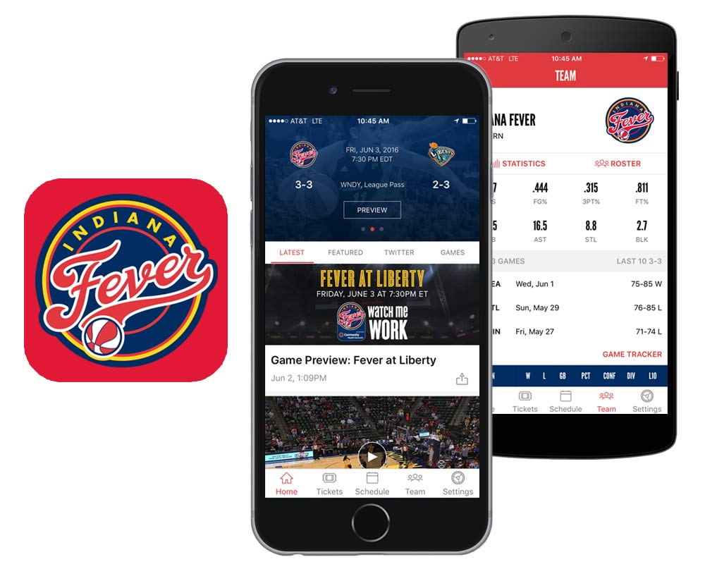 Indiana Fever Official Team App
