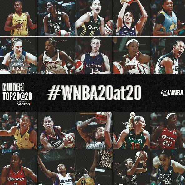 What They're Sayin: WNBA 20 at 20