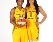 Tamika Catchings & Natalie Achonwa