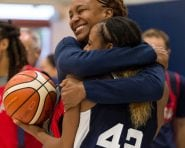 Tamika Catchings & Tiffany Mitchell