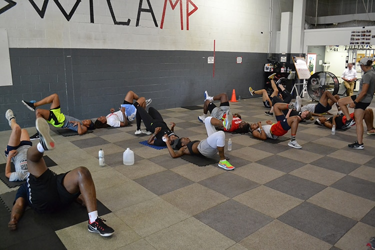 Indiana Fever Bootcamp at Gym41