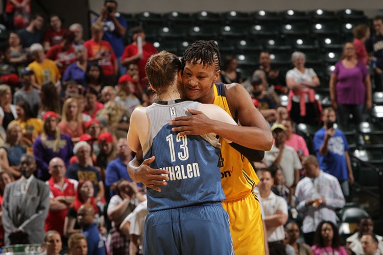 Tamika Catchings & Lindsay Whalen