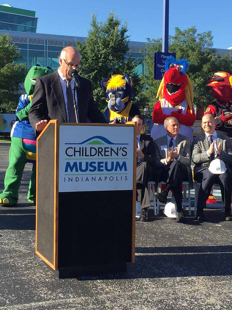 Riley Children's Health Sports Legends Experience Groundbreaking
