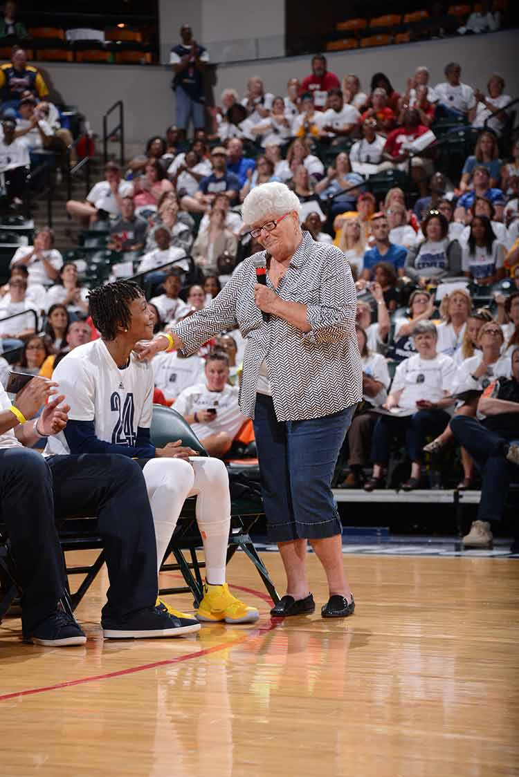 Lin Dunn & Tamika Catchings