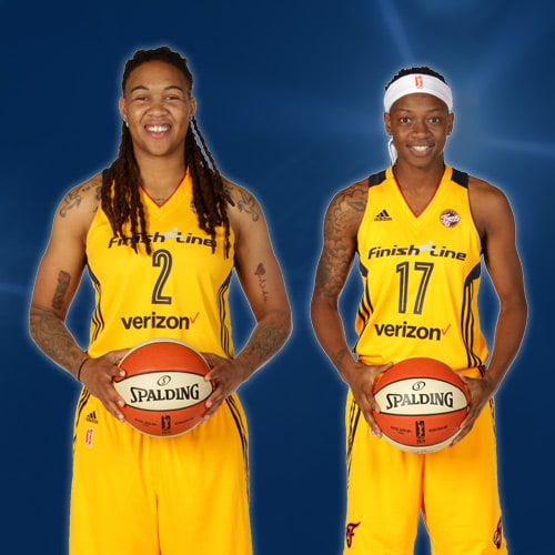 Erlana Larkins and Erica Wheeler