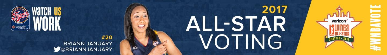 WNBA All-Star 2017 Vote