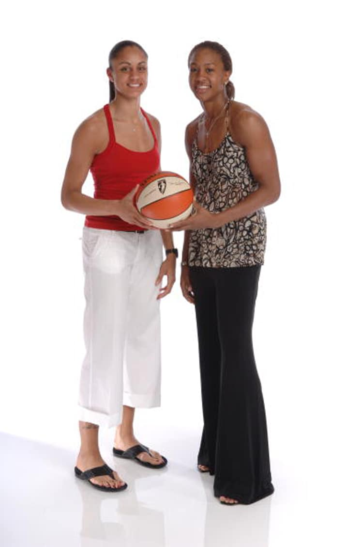 Candice Dupree & Tamika Catchings