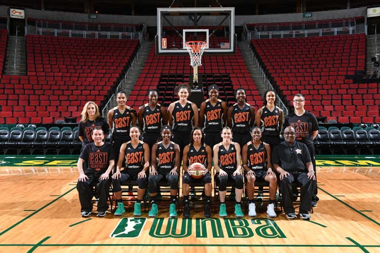2017 WNBA Eastern Conference All-Star team