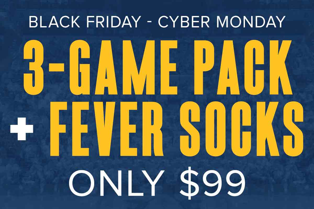 Indiana Fever Black Friday - Cyber Monday Special Offer