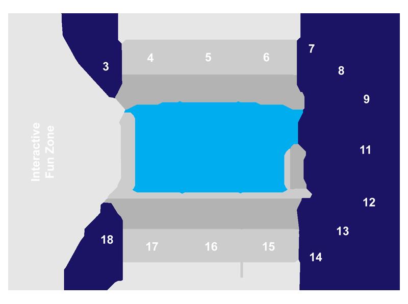 Pride Code E Seat Map