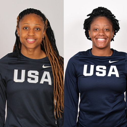 Tiffany Mitchell, Kelsey Mitchell