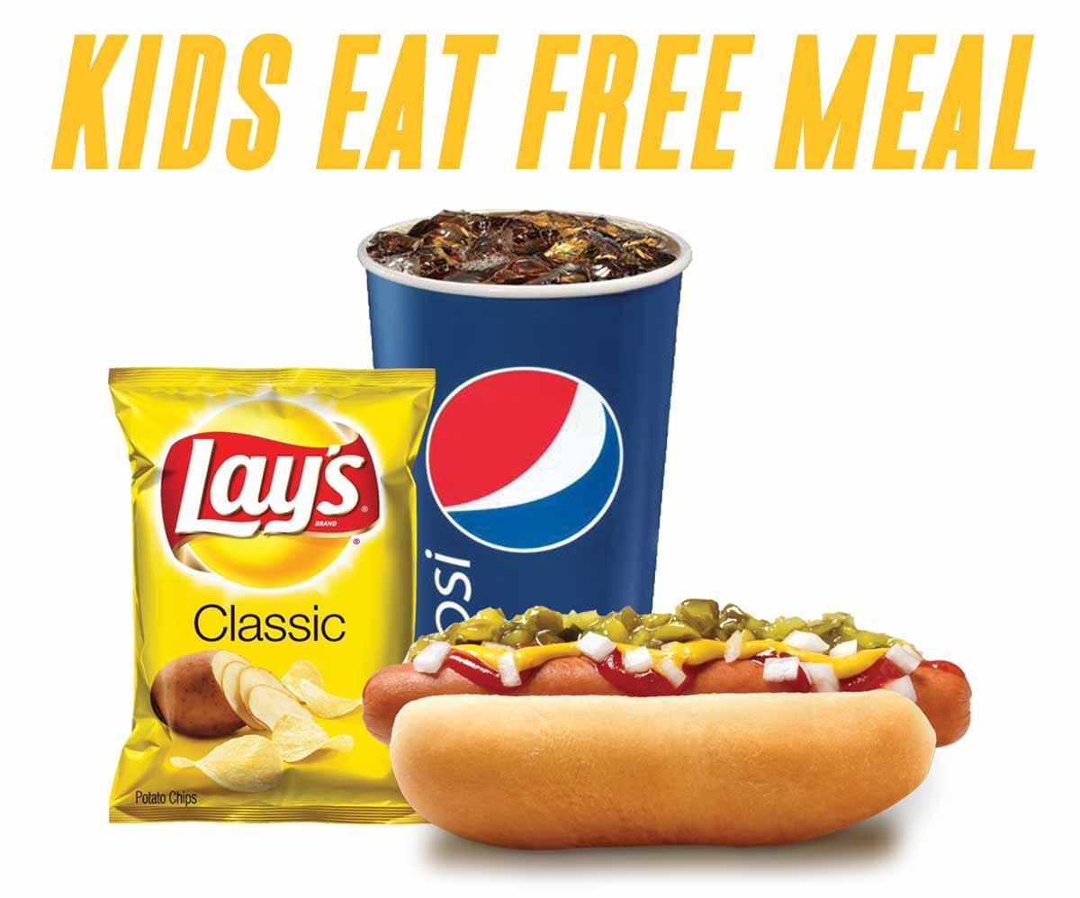 Kids Eat Free Meal