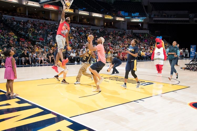 Indiana Fever and Fans