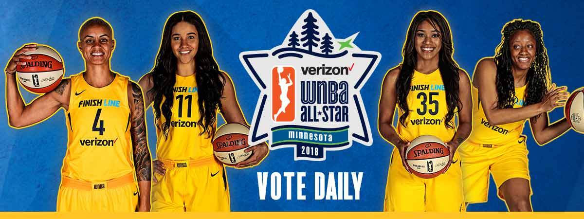 WNBA All-Star 2018 Vote
