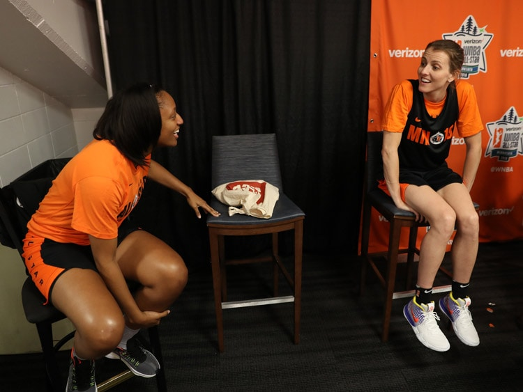 Kelsey Mitchell, Allie Quigley