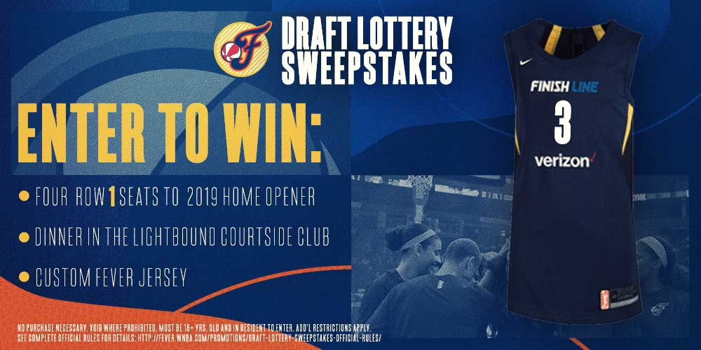 Enter To Win: Draft Lottery Sweepstakes