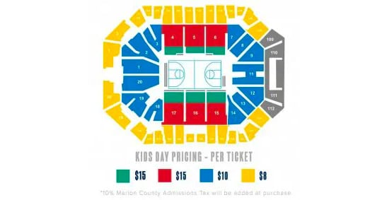 Kids Day Pricing - Per Ticket