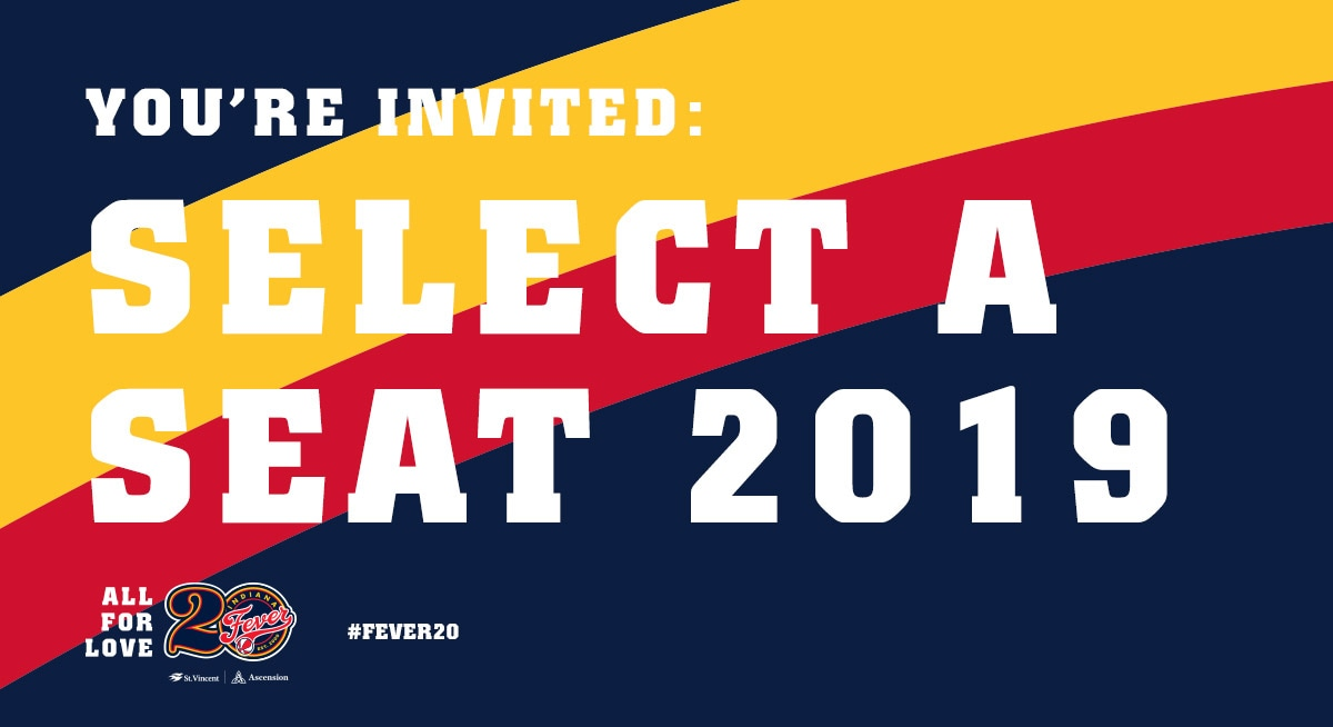 You're Invited! Select-A-Seat 2018
