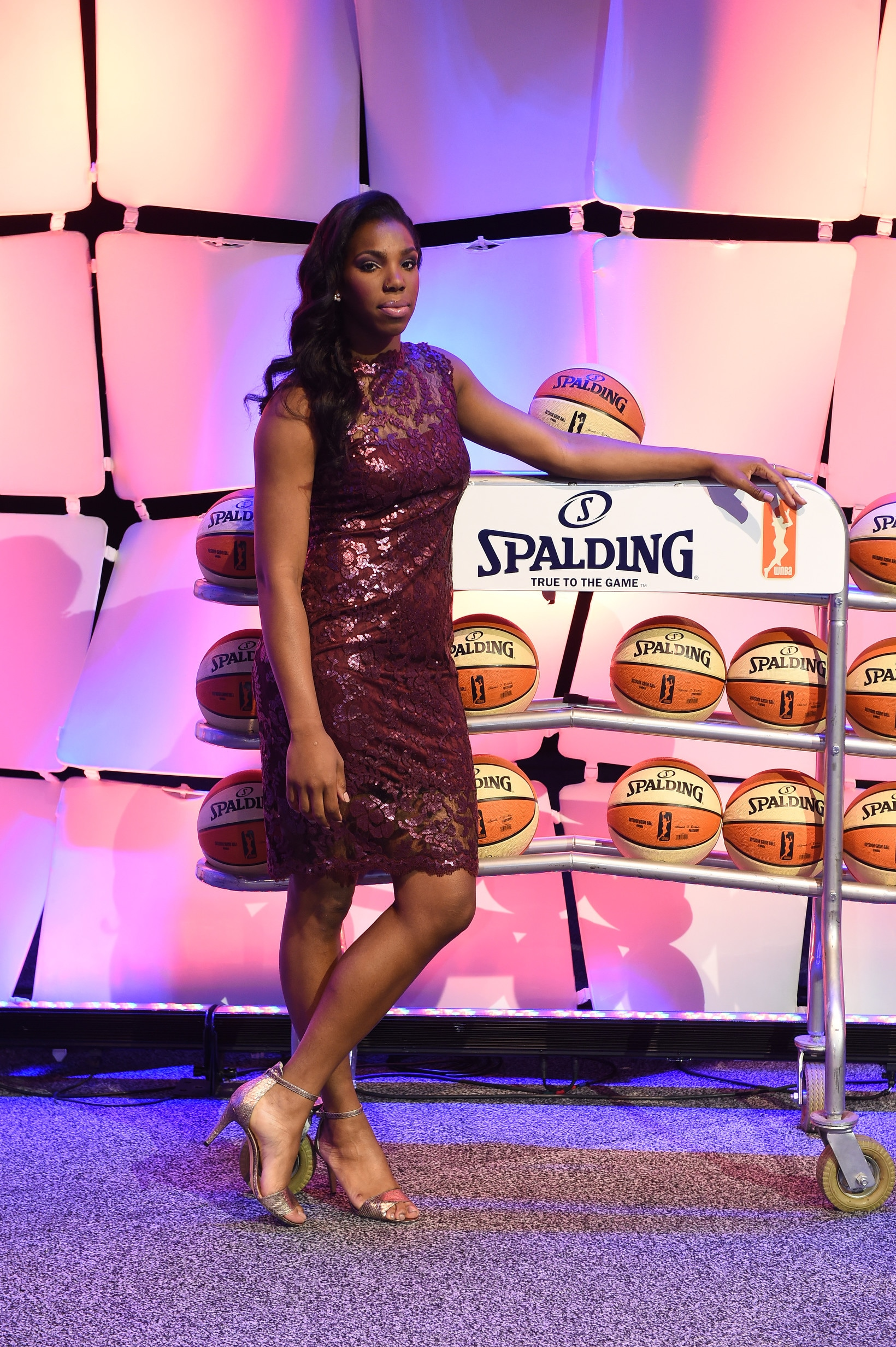 UNCASVILLE, CT - APRIL 16:  WNBA Draft Prospect Reshanda Gray poses for a photo during the 2015 WNBA Draft Presented By State Farm on April 16, 2015 at Mohegan Sun Arena in Uncasville, Connecticut.  NOTE TO USER: User expressly acknowledges and agrees that, by downloading and/or using this Photograph, user is consenting to the terms and conditions of the Getty Images License Agreement. Mandatory Copyright Notice: Copyright 2015 NBAE  (Photo by Brian Babineau/NBAE via Getty Images)