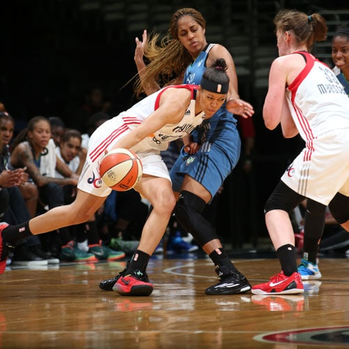 Mystics guard Natasha Cloud scored 10 points on 4-of-6 shooting while playing just 22 minutes