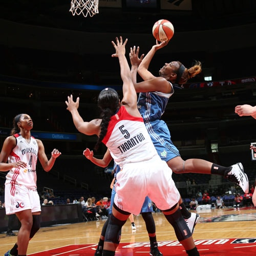 Lynx rookie forward Reshanda Gray had a solid WNBA debut scoring 10 points to go with five rebounds.