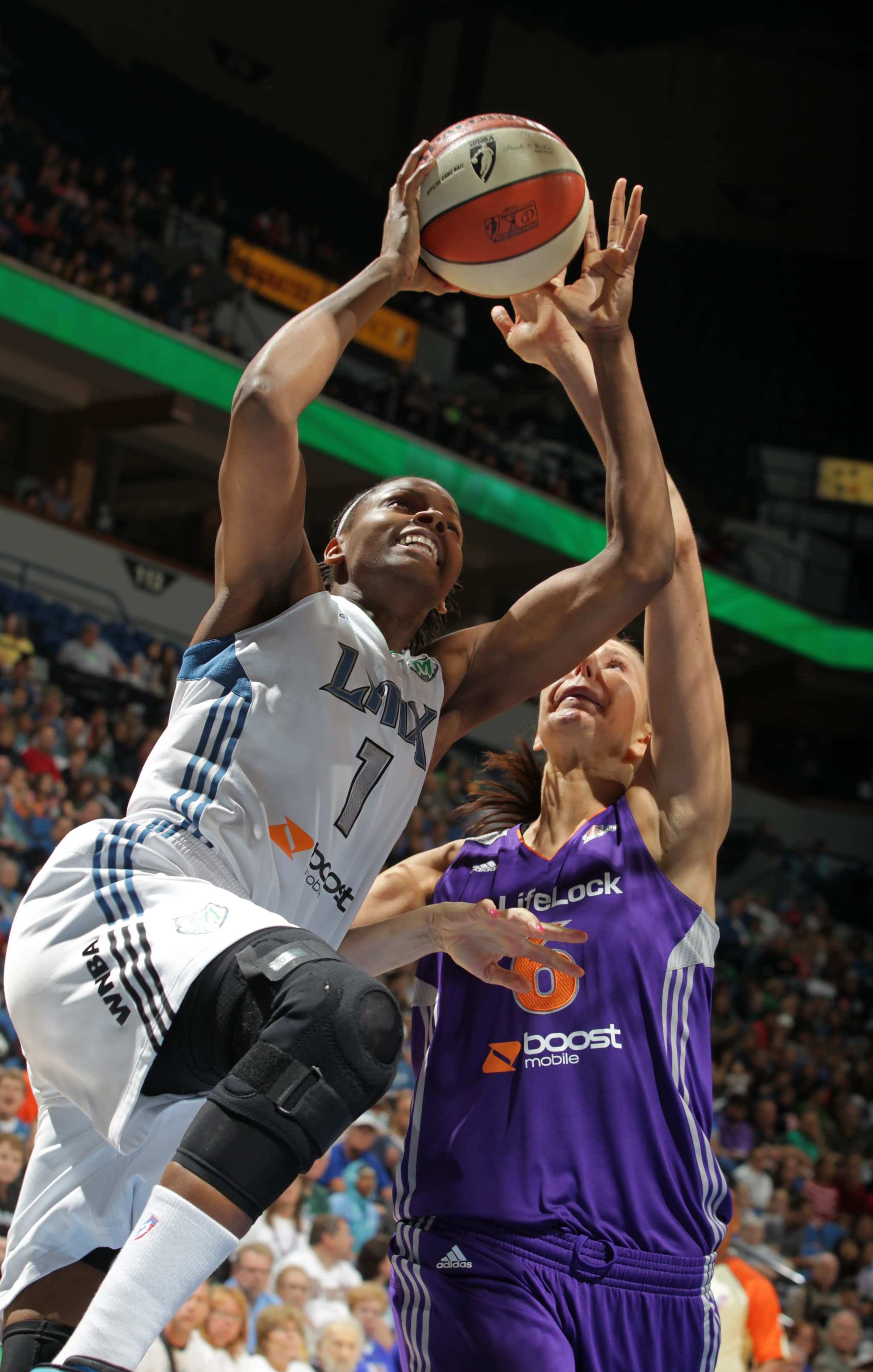 2012's Home-Opener: Lynx center Jessica Adair came off the bench to score nine points and grab rebounds in the Lynx's 105-83 blowout of the Phoenix Mercury
