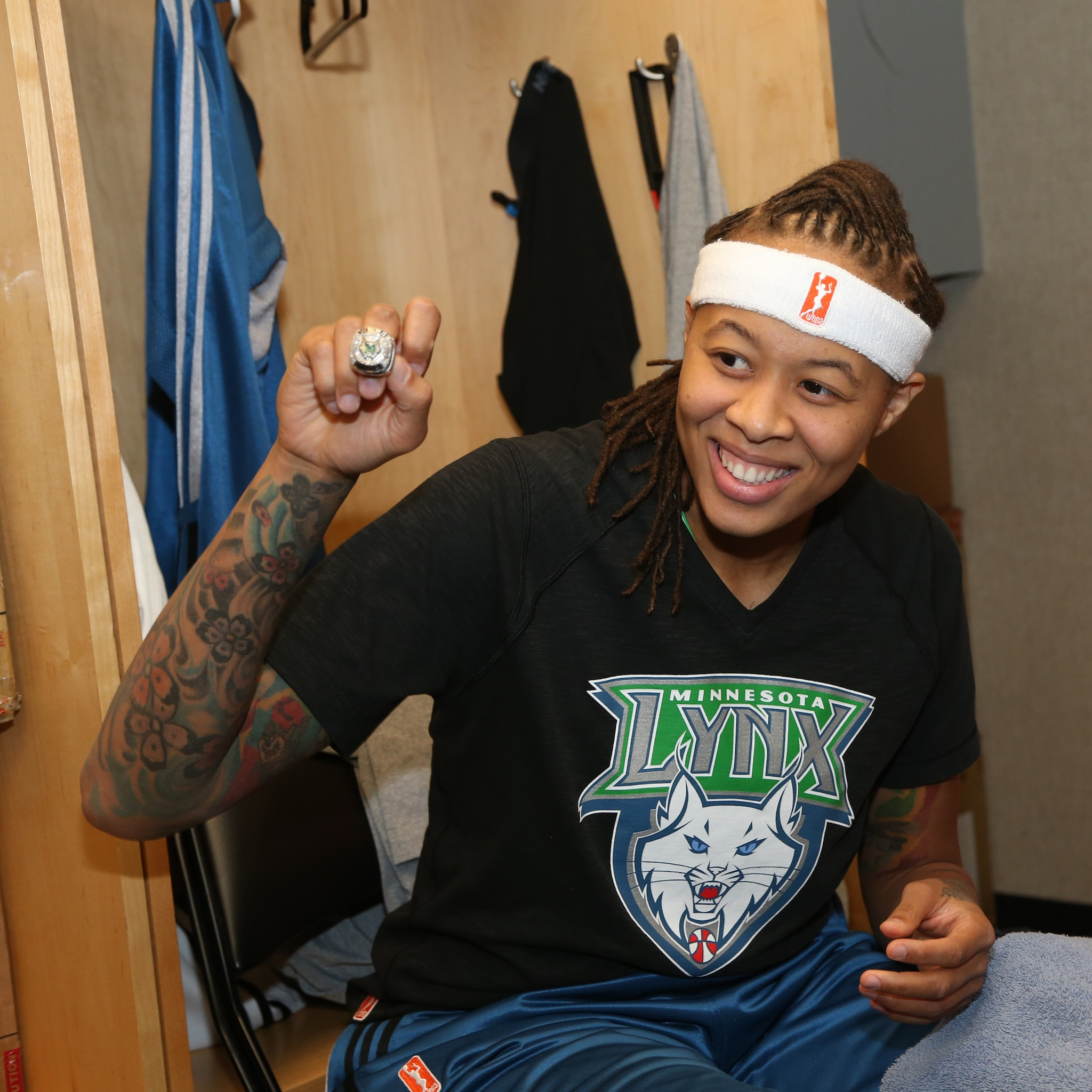 2014's Home-Opener: Last year's home-opener was a time to celebrate as the lynx players and coaches got their 2013 WNBA Championship rings.