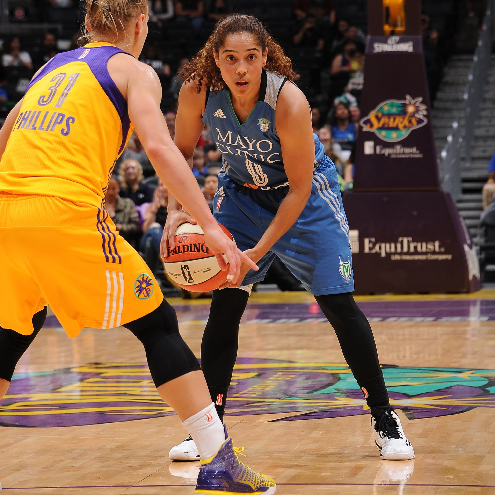 Lynx guard Jennifer O'Neill had a quiet game off the bench playing only 14 minutes and scoring just three points while adding three rebounds and two assists.