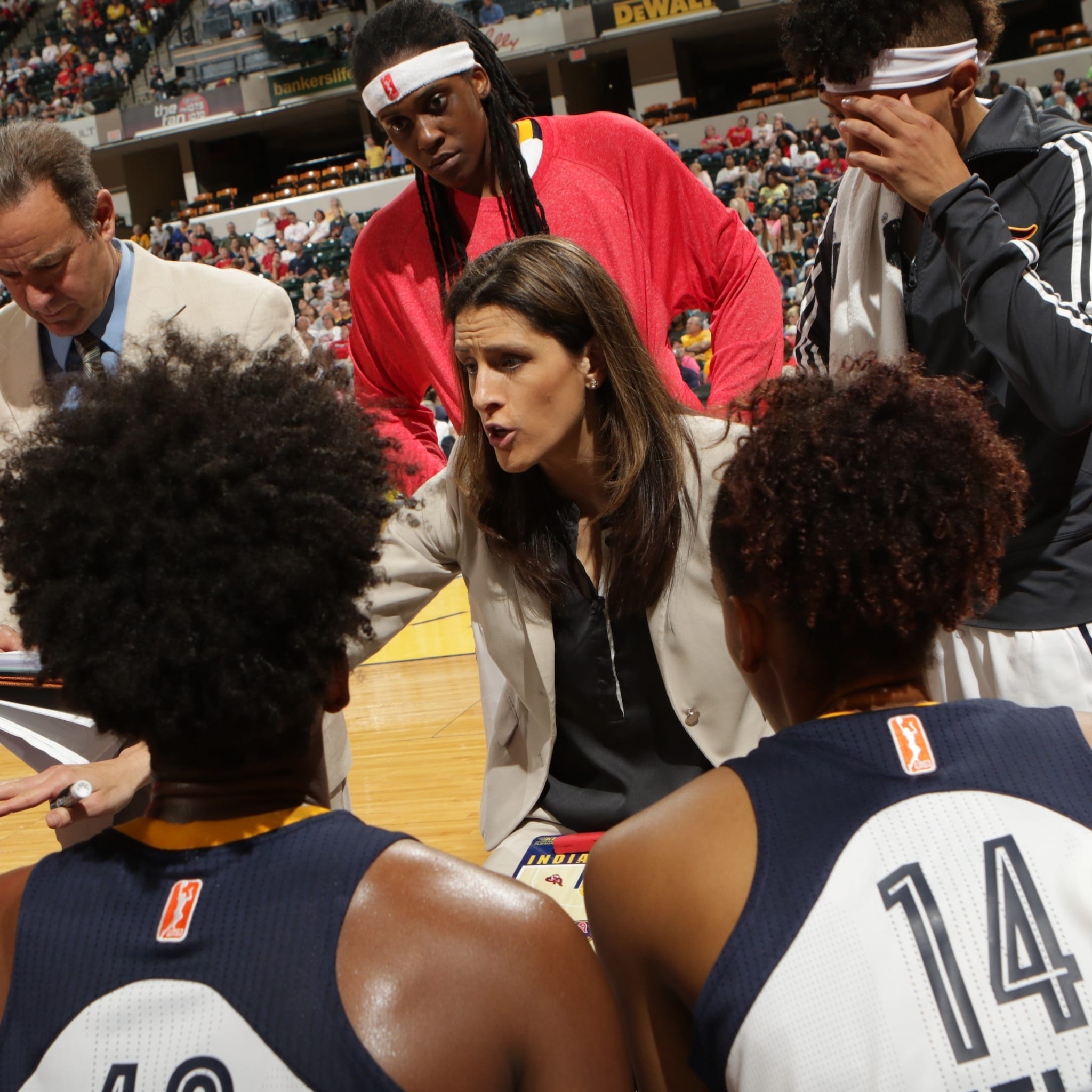 Fever head coach Stephanie White tried her best to lead her team to victory against the Lynx but fell short, losing 78-69.