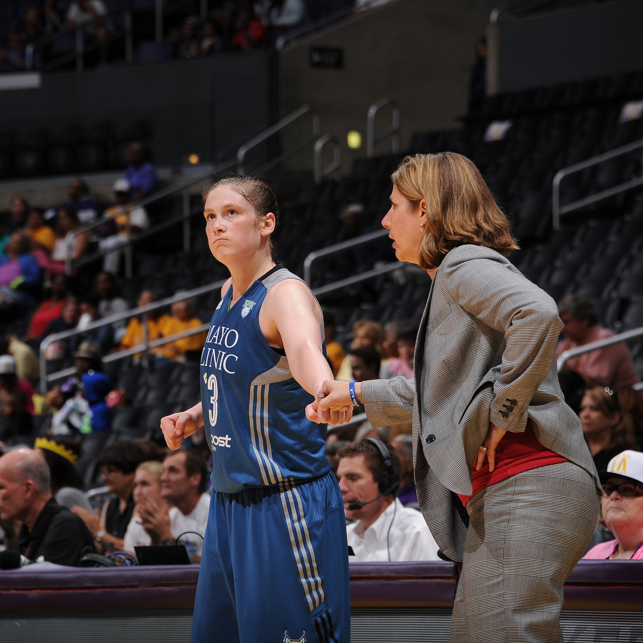 Lynx head coach Cheryl Reeve and guard Lindsay Whalen had the formula for victory leading the Lynx to a 67-52 win over the Sparks.