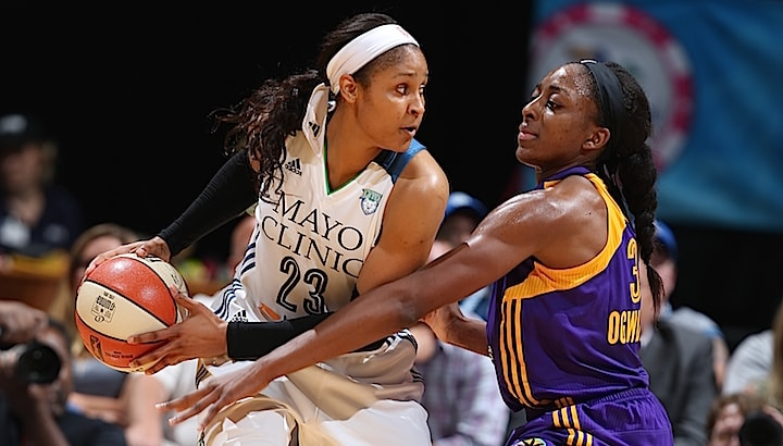 The Minnesota Lynx and Los Angeles Sparks met for the second time this season on July 29 at Target Center and the Lynx emerged victorious 82-76 behind 27 points, seven rebounds and three steals from forward Maya Moore.
