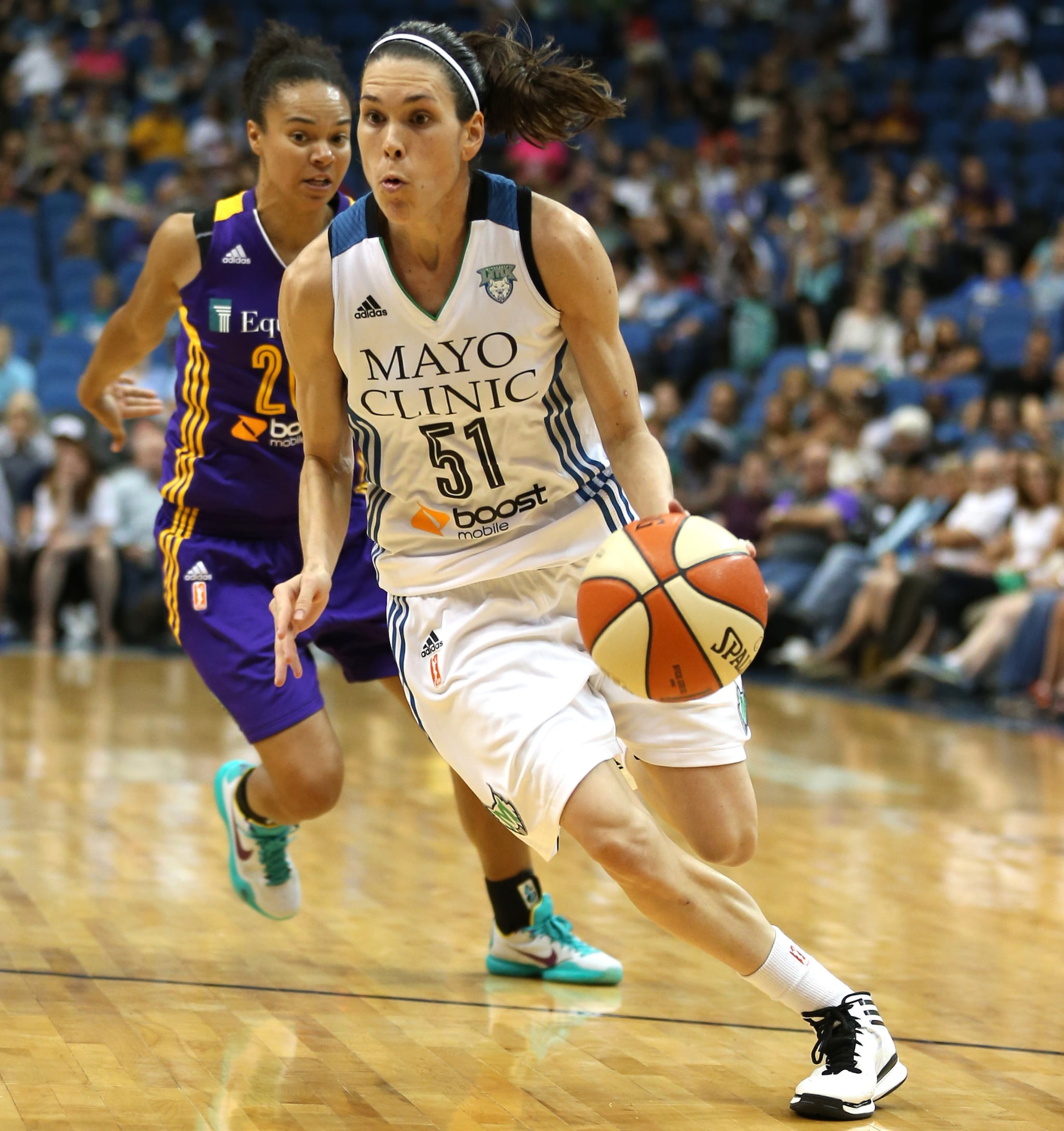 Lynx guard Anna Cruz had a solid all-around game, finishing with five points, five rebounds and four assists. Cruz left the game late in the fourth quarter due to an ankle injury, but the injury is not believed to be serious.