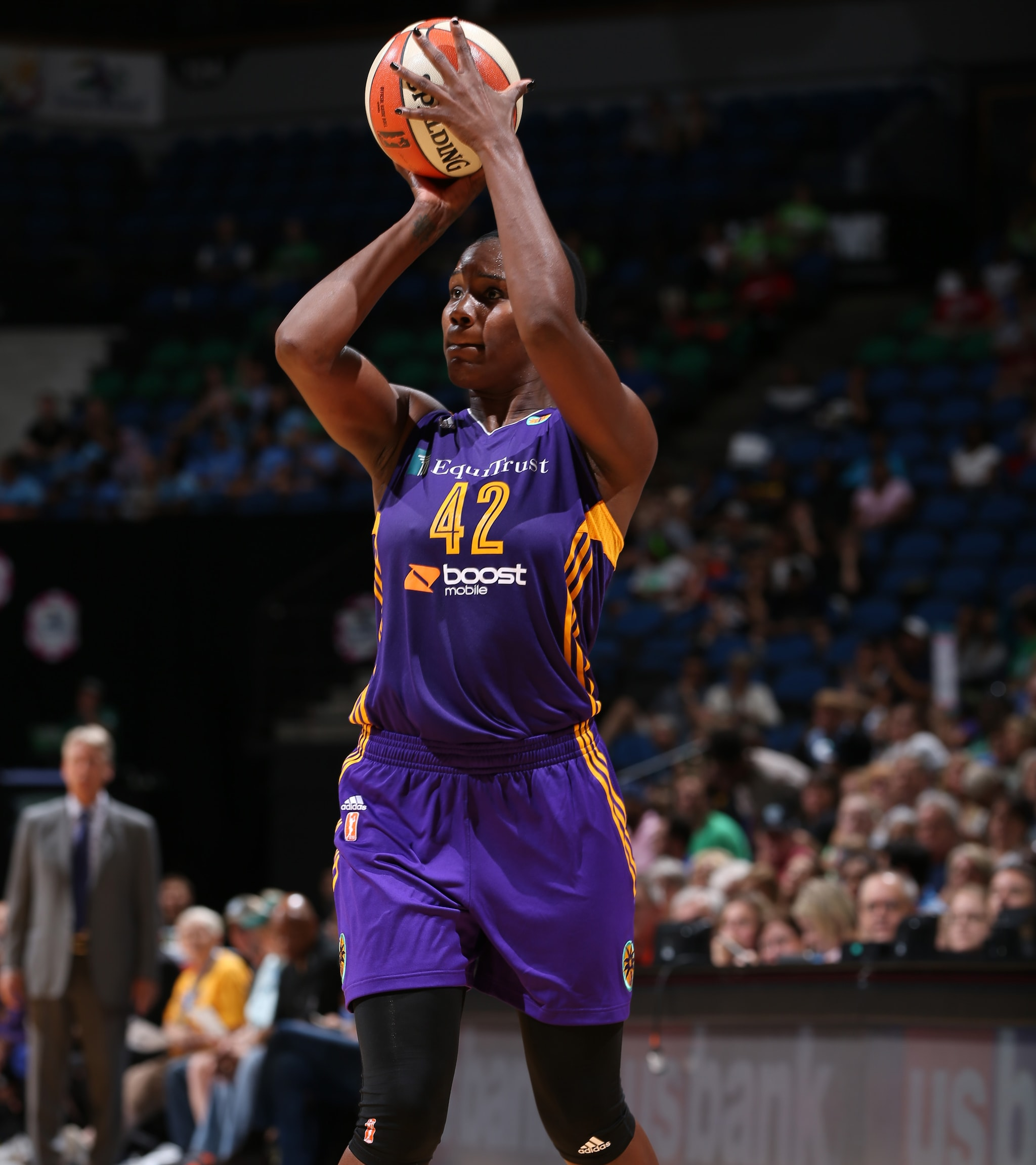 As good as the Minnesota Lynx played defensively, they could not find an answer for Sparks center Jantel Lavender. Lavender finished with 15 points on 7-of-10 shooting and grabbed 10 rebounds as well.