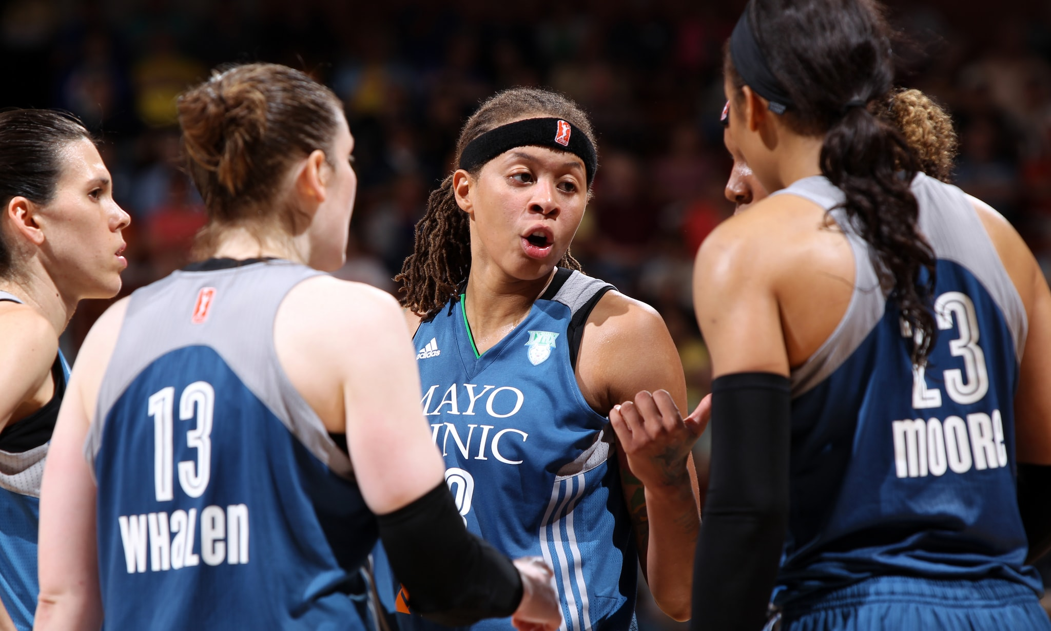 Despite some early struggles, the Lynx came out scoring in the second-half, outscoring the Sun 20-14 in the third quarter and 43-39 in the second half.