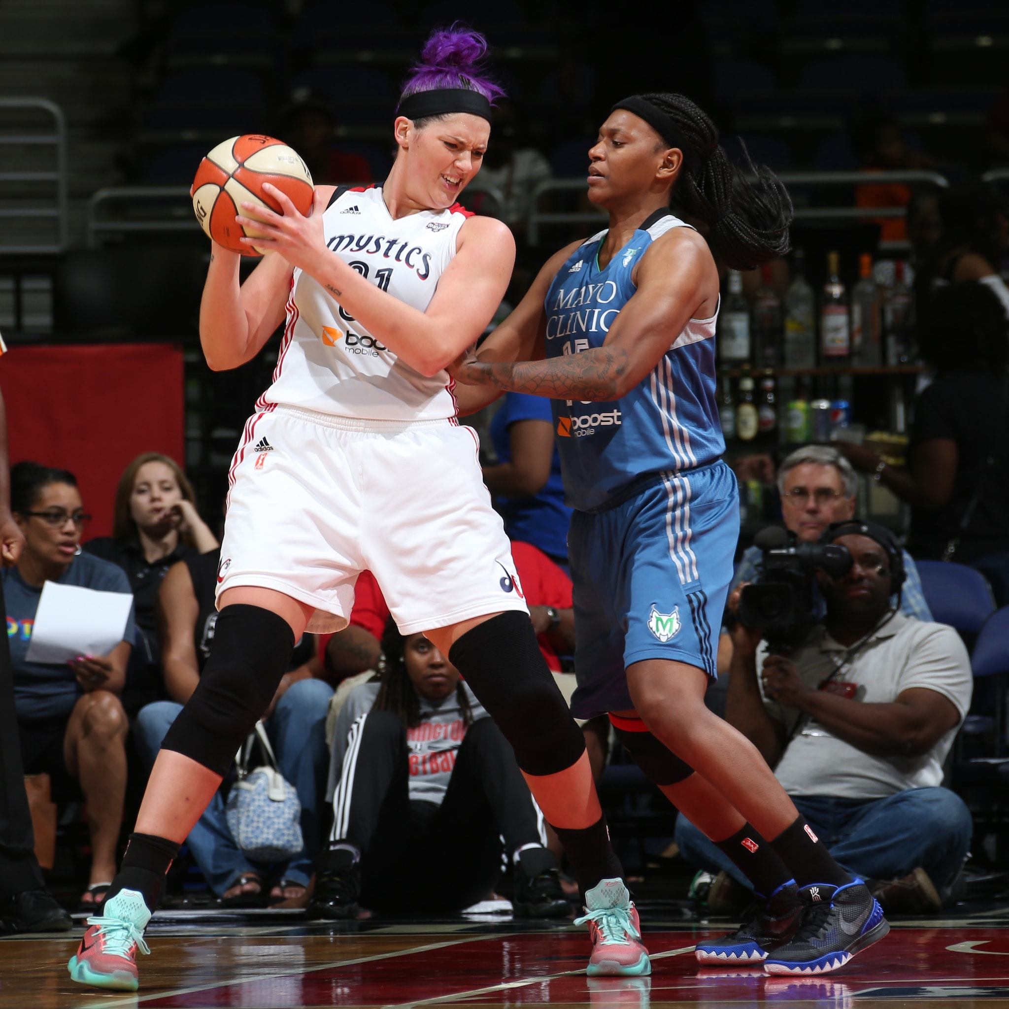 Mystics center Stefanie Dolson scored 12 points and grabbed seven rebounds in Washington's win over the Lynx.