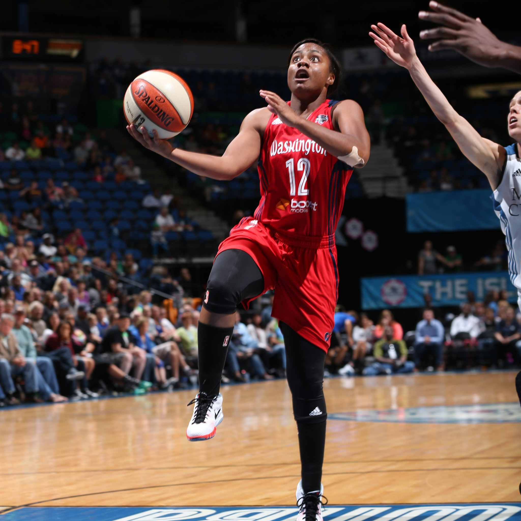 Mystics guard Ivory Latta caused problems for the Lynx defense once again, finishing with 16 points, three rebounds and four assists in Washington's victory.