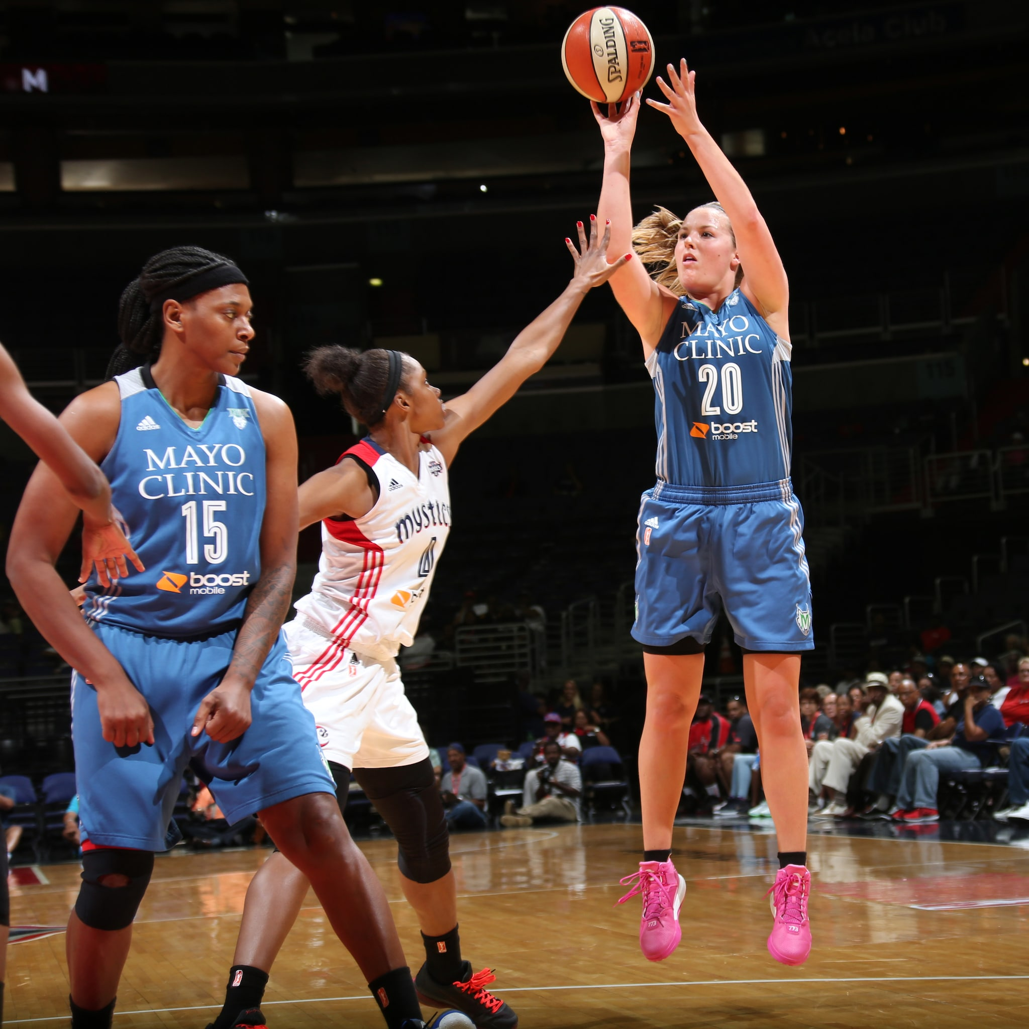 Lynx guard Tricia Liston came off the bench to provide quality minutes for Minnesota. Liston finished with 11 points on 4-of-6 (66 percent) shooting in just 17 minutes off the bench.