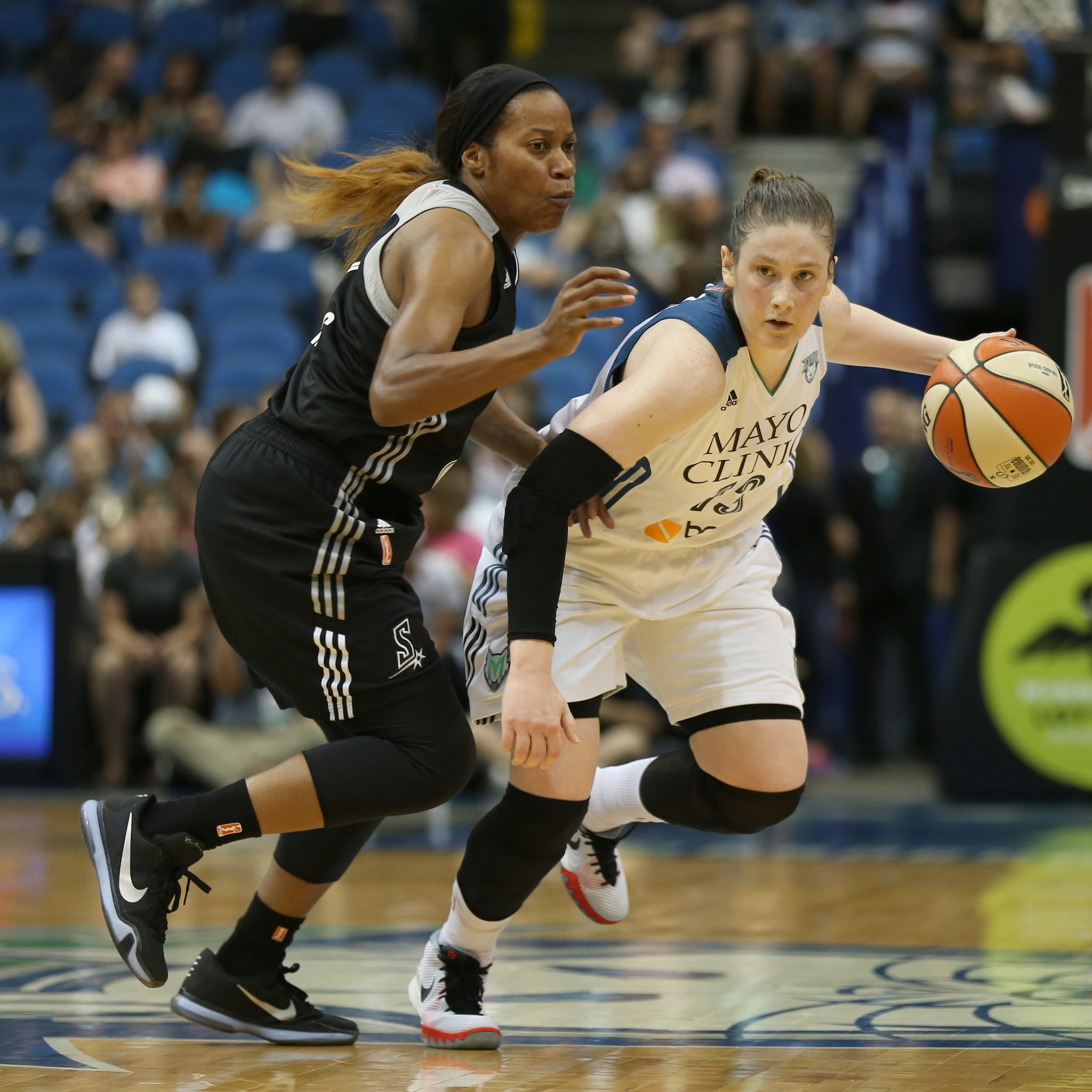 Lynx guard Lindsay Whalen had a solid game, finishing with seven points and nine assists. Whalen also became just the third player in WNBA history with 2,000+ assists tonight, joining guards Sue Bird and Ticha Penicheiro