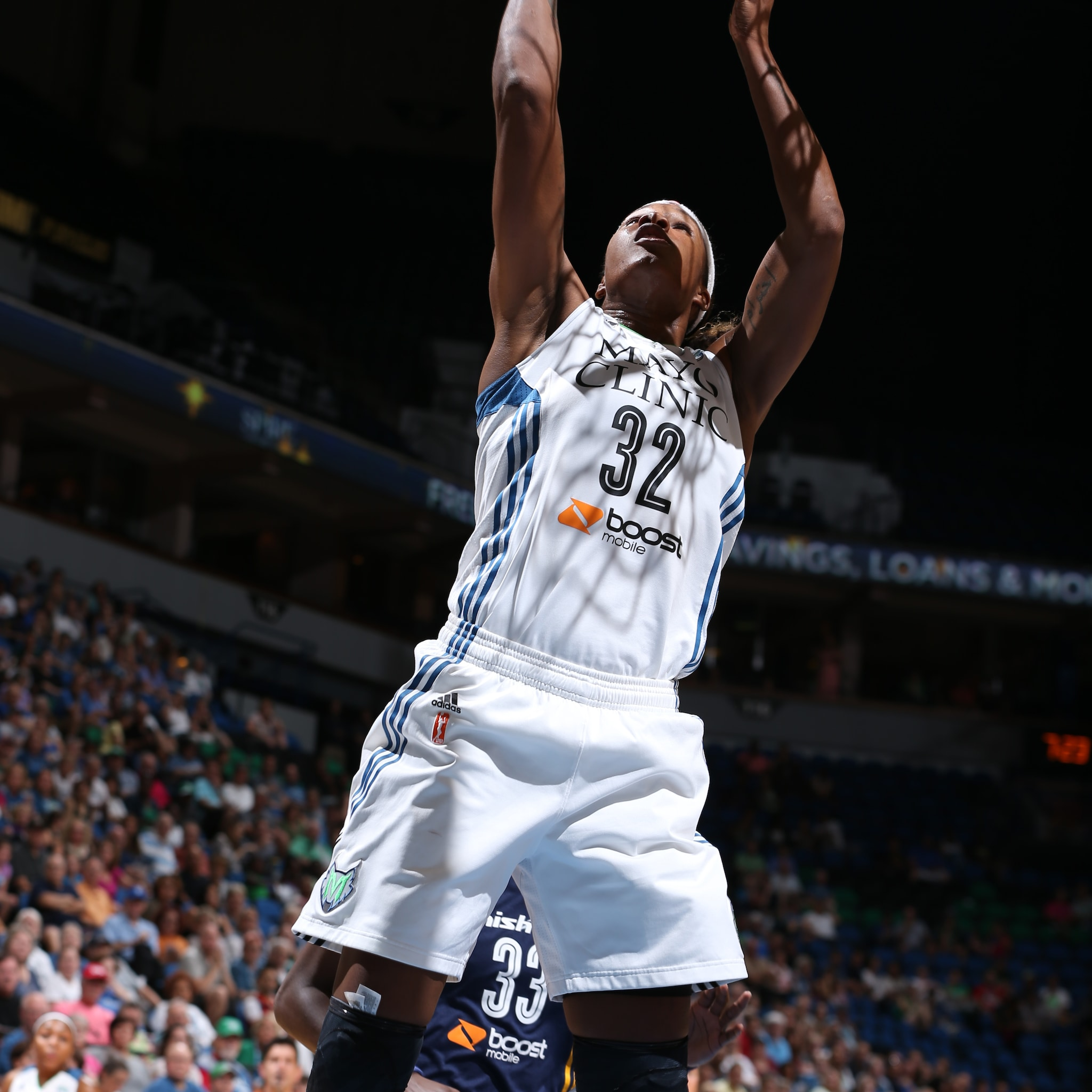 The Lynx frontcourt was fantastic on Friday night and Rebekkah Brunson was a big part of that. Brunson finished the night with 14 points, 11 rebounds and one steal.