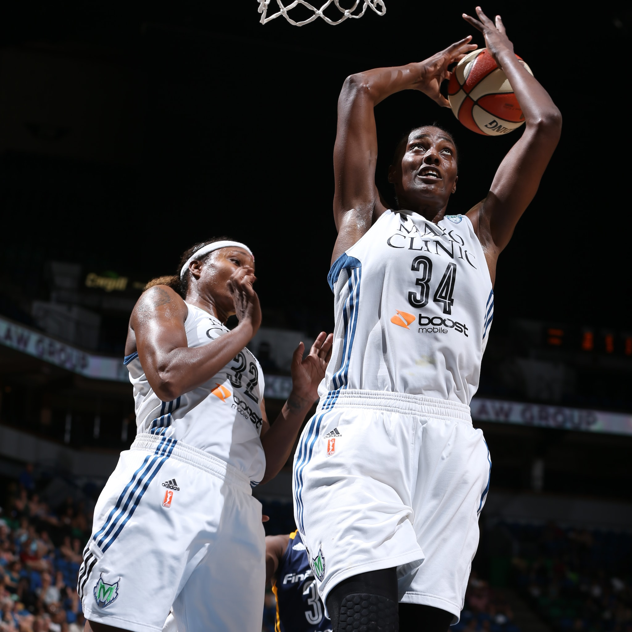 The other half of Minnesota's dynamic frontcourt duo, Sylvia Fowles, was near unstoppable on Friday night, finishing with a game-high 18 points and game-high 14 rebounds to go with her two steals and two blocked shots.