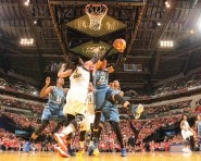 Maya Moore #23 of the Minnesota Lynx grabs the rebound against the Indiana Fever during Game Three of the 2015 WNBA Finals
