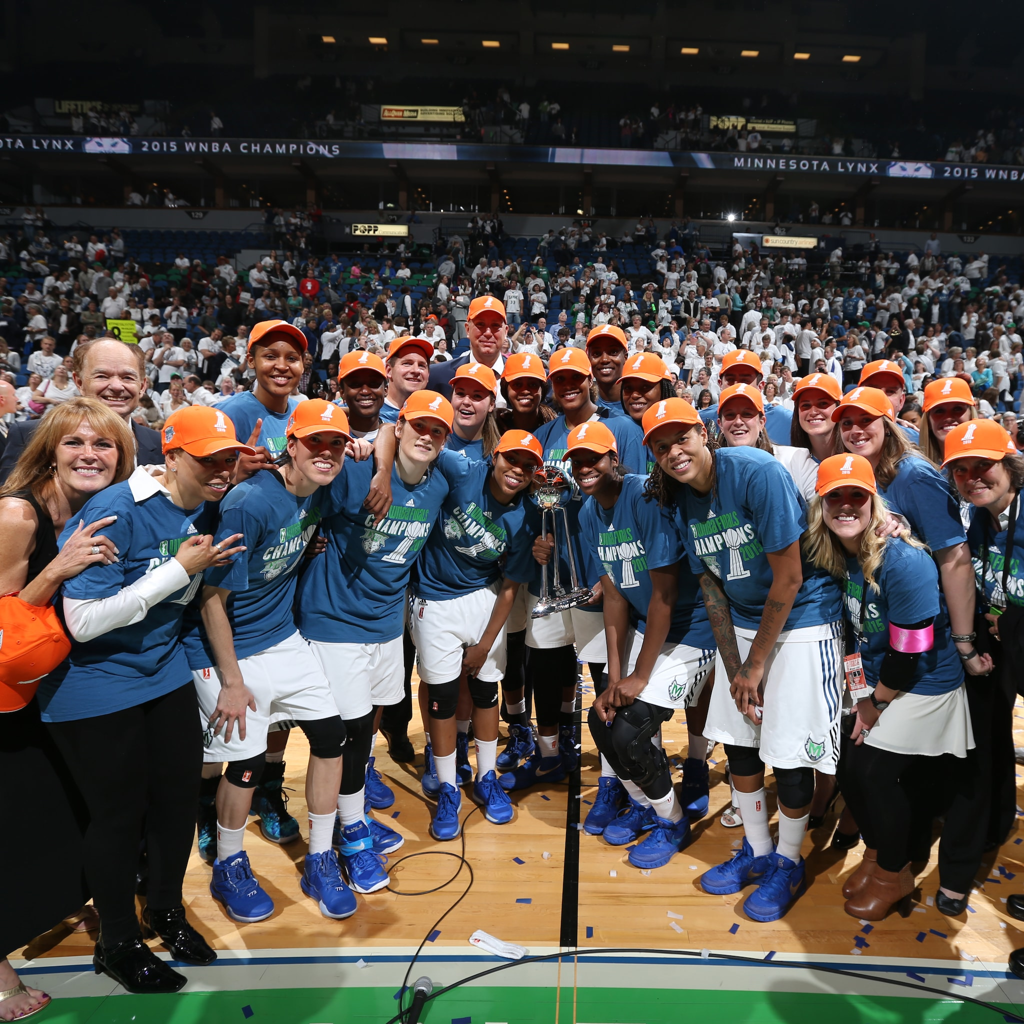 Game 5 2015 WNBA Finals Indiana Fever v Minnesota Lynx