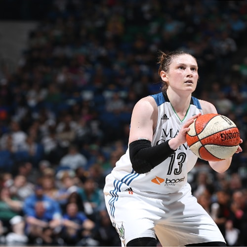 MINNEAPOLIS, MN - OCTOBER 6:  Lindsay Whalen #13 of the Minnesota Lynx shoots a free throw against the Indiana Fever during Game Two of the 2015 WNBA Finals on October 6, 2015 at Target Center in Minneapolis, Minnesota.  NOTE TO USER: User expressly acknowledges and agrees that, by downloading and or using this Photograph, user is consenting to the terms and conditions of the Getty Images License Agreement. Mandatory Copyright Notice: Copyright 2015 NBAE (Photo by David Sherman/NBAE via Getty Images)