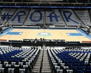 ST. PAUL, MN - SEPTEMBER 28:  The interior of the arena before the game between the Phoenix Mercury and the Minnesota Lynx in Game One of the Semifinals during the 2016 WNBA Playoffs on September 28, 2016 at Xcel Energy Center in St. Paul, Minnesota.  NOTE TO USER: User expressly acknowledges and agrees that, by downloading and or using this Photograph, user is consenting to the terms and conditions of the Getty Images License Agreement. Mandatory Copyright Notice: Copyright 2016 NBAE (Photo by David Sherman/NBAE via Getty Images)