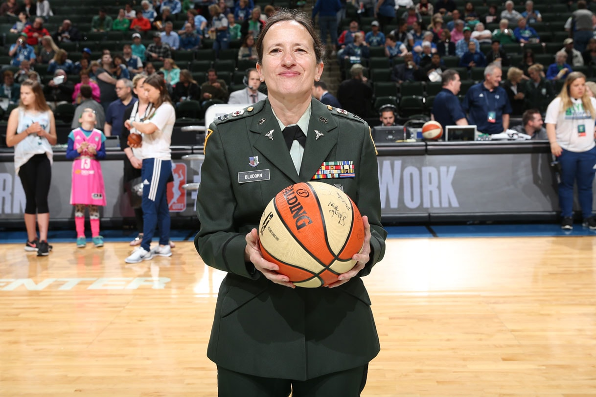 Hero of the Game was Retired Captain Susan Bludorn