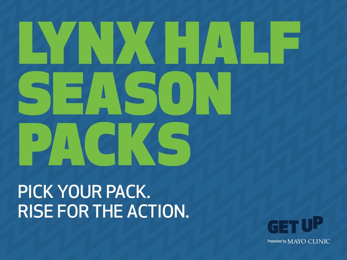 Minnesota Lynx Half Season